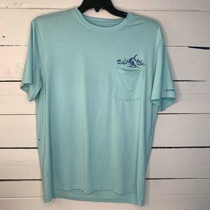 Salt Life SLX Fishing Shirt Size L